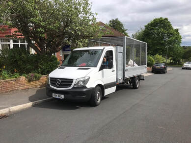 RCL Rubbish Removal Van